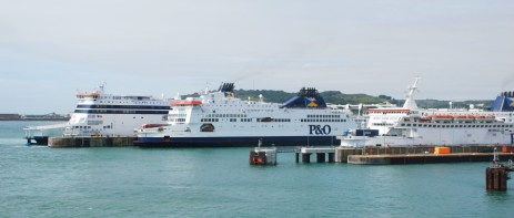 thumbnail_100 Dover - P&O Ferries - Spirit of France%2c Pride of Kent%2c Pride of Calais (04)