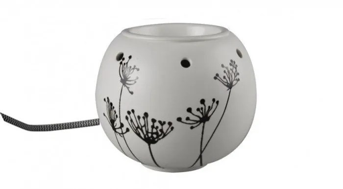 Tjooze - Electrisch wax/olie warmer - Bowl Black - Scentchips