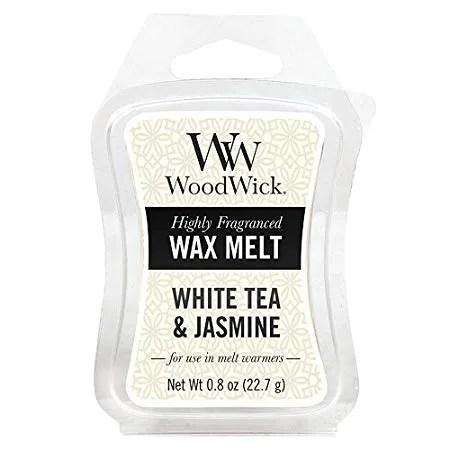 Tjooze - WoodWick waxmelt - White tea & Jasmine