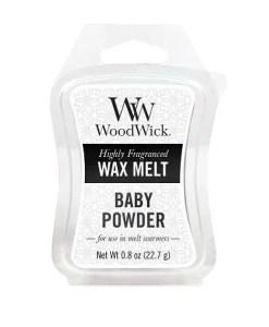 Tjooze - WoodWick Waxmelts - Baby Powder
