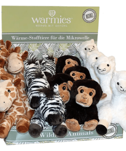 Warmies - Wildlife Animals Display - Tjooze