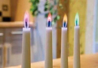 Tjooze - Angel Flames - Kaars met gekleurde vlam