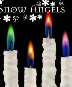 Snow Angel - Detail 4 kleuren - Tjooze