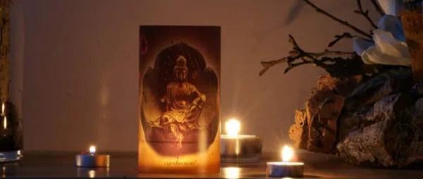 Tjooze - CandleCover Buddha