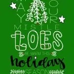 Warm mistleTOES this holiday season from The Joy of Sox - a nonprofit that gives joy to the homeless by giving them new socks.