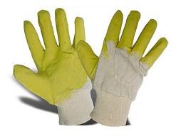 рукавички з латексом