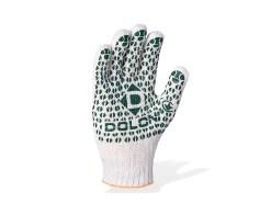 перчатки вязаные с двухсторонним пвх