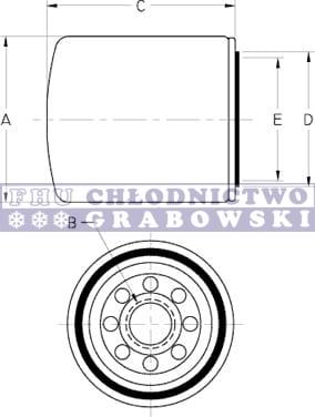 Oil filter Thermo King SB ; 11-9099 ORIGINAL