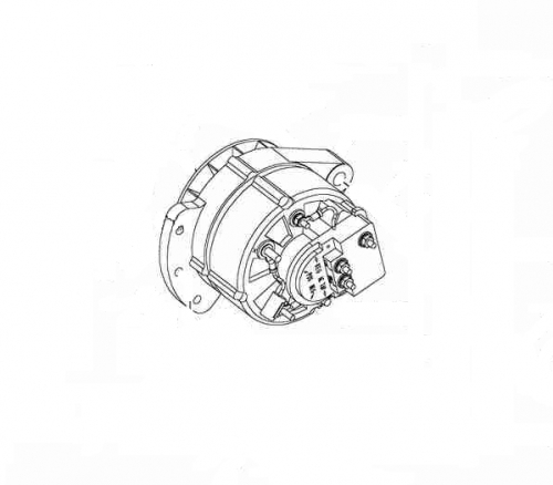 Alternator 23A Thermo King TS ; 41-2194 replacement