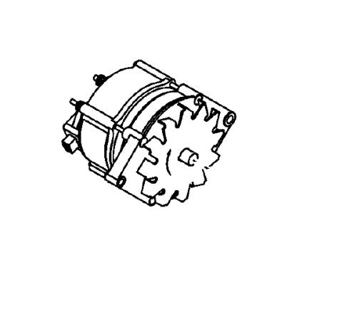 Alternator 120A Thermo King SL / SLX ; 41-6782 used