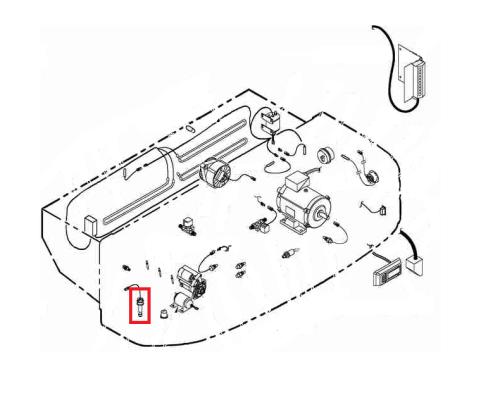 Oil level sensor Isuzu 2.2di / Yanmar TK 3.74 / 3.95 / 4