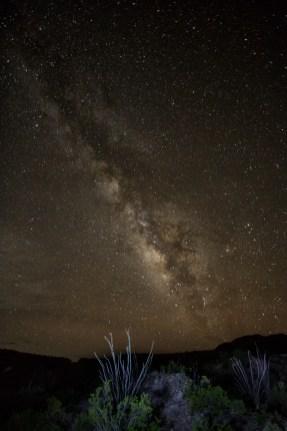 Milky Way at Castelon