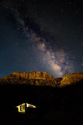 Luna's Milky Way