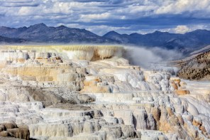 Mammoth Hot Springs - Canary Springs