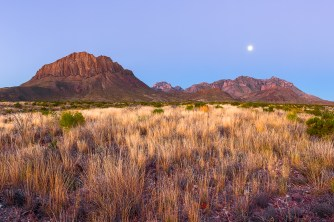 Nugent Mountain & The Chisos Basin