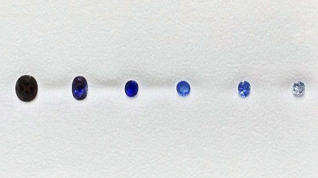 Shades of Sapphires