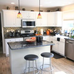 Kitchen Facelift White Cabinets Design Tk Building Llc Img 3330
