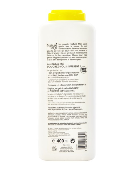 ENERGIZING SHOWER GEL (Citron) 400 ml.