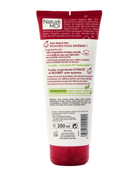 NOURISHING SHOWER GEL (FIG) 200 ml.