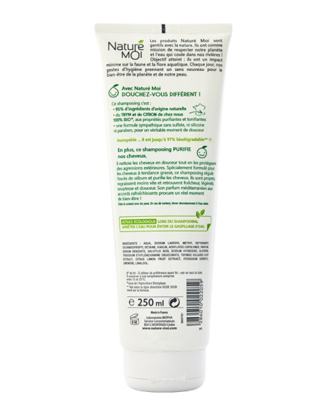 PURIFYING SHAMPOO 250 ml.