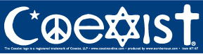 Coexist sticker