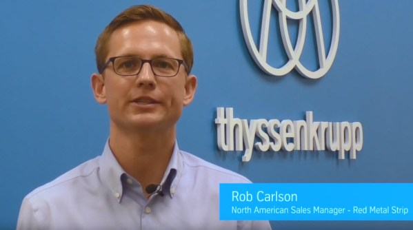 Rob Carlson, Copper and Brass Sales