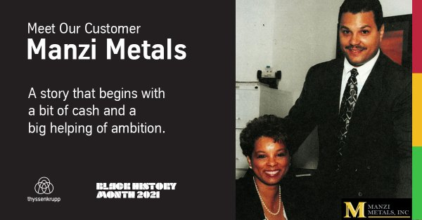 Manzi Metals - Customer Spotlight - Black History Month