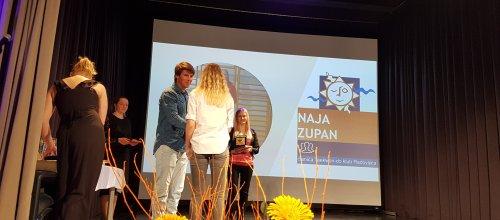 Naja Zupan prejela Veliki športni znak Občine Tržič