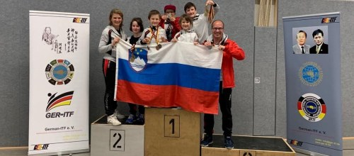 Many gold medals on German ITF Open