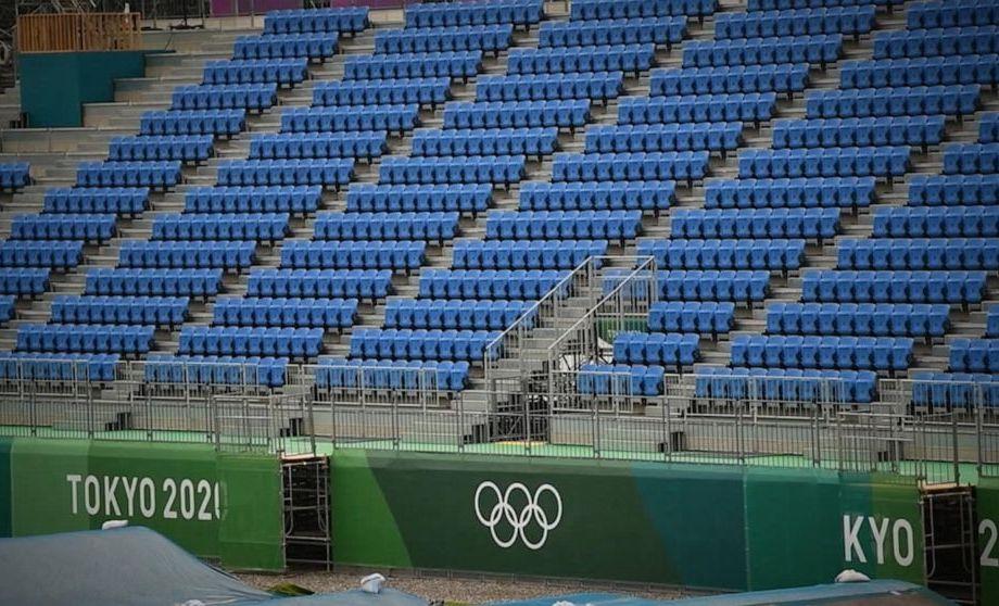 No Spectators at The Tokyo Games