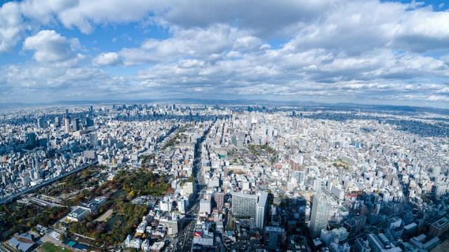大阪市の景色