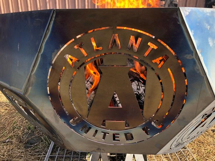 11 gauge steel welded laser cut Atlanta United MLS Cup 2018 Champions