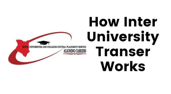 KUCCPS Inter-University transfer Placement with Steps and