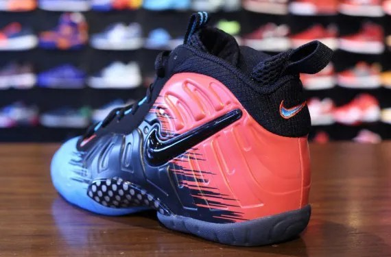 ccbff6d9bef NIKE AIR FOAMPOSITE PRO SPIDER MAN AVAILABLE IN GRADE SCHOOL SIZES ...