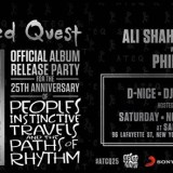 A TRIBE CALLED QUEST 25th ANNIVERSARY PARTY!