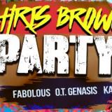 Chris Brown The Party Tour featuring Fabolous, OT Genasis, Casanova 2x and Kap G