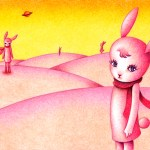 "Illustrations of ""Rabbit, Hill, Cute animal, Fantasy, Fairy tale"""