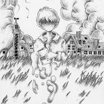 """Illustrations of """"Different dimension, Silo, Ranch, Teleportation, Wormhole"""""""