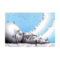 """Illustrations of """"Giant, Drowning person, Beach, Leviathan, Variant"""""""