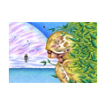 """Illustrations of """"Robot, Artificial intelligence, Ocean, Planet, Heavenly bodies"""""""