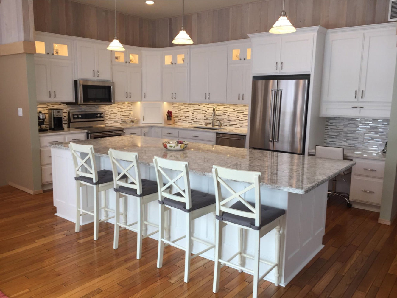 Cabinets in Bright White  Galleries  Projects  The