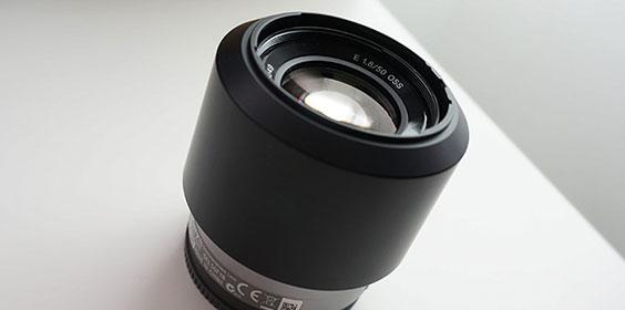 レンズを買った。SONY SEL50F18