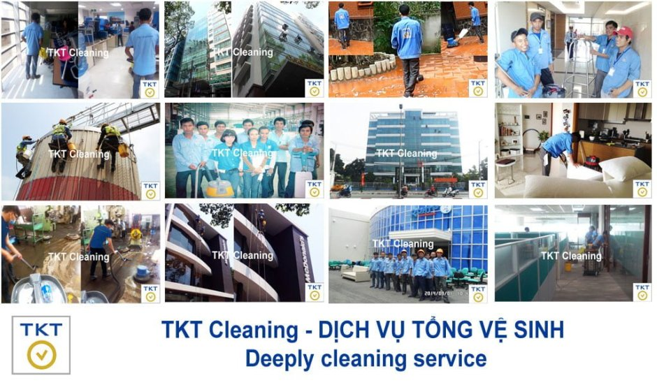 Total cleaning service in Ho chi minh City - General or Deeply cleaning Service