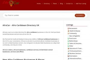 Afro Caribbean Directory