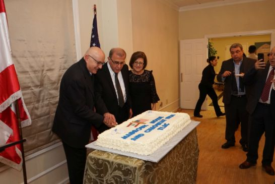 Honoring Dr Moise Khayrallah and Mr Chaoukat Nasrallah - 040