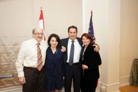 Honoring Dr Moise Khayrallah and Mr Chaoukat Nasrallah - 057