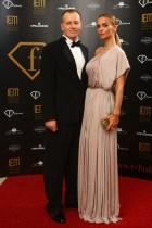Boris Kollár s partnerkou.