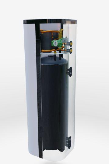 Kompaktné tepelné čerpadlo DUO