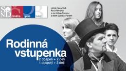 Slovenské národné divadlo má ambíciu prilákať do svojich hľadísk rodiny s deťmi. Jednou z motivácií je aj Rodinná vstupenka SND.