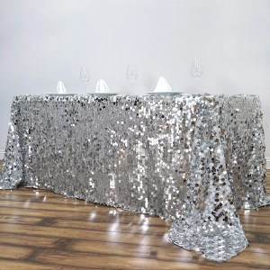 Long Sequin Tablecloth Rentals in Gardena